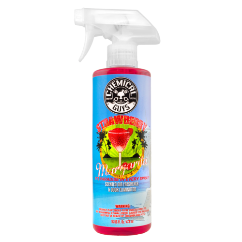 Chemical Guys AIR_223_16 - Strawberry Margarita Scent Premium Air Freshener (16 oz)