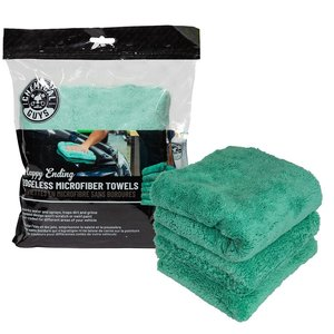 Chemical Guys Canada MIC34603 - Happy Ending Towel Green