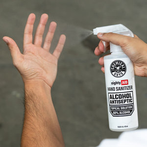 Chemical Guys HYG10016 eightyAID Hand Sanitizer Alcohol Antiseptic 80% Topical Solution (16 oz)