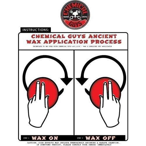 Chemical Guys Canada ACC_113 - Pro-Applicator Durafoam Die Cut Applicator Pad