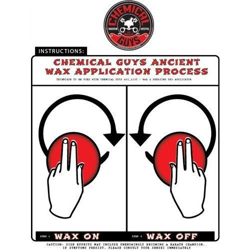 Chemical Guys ACC_113 - Pro-Applicator Durafoam Die Cut Applicator Pad