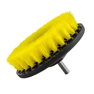 Chemical Guys Canada ACC_201_BRUSH_MD - Carpet Brush w/ Drill Attachment, Medium Duty, Yellow