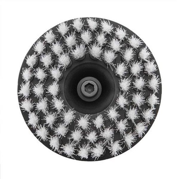 Chemical Guys Canada ACC_201_BRUSH_S - Carpet Brush w/ Drill Attachment, Light Duty, Gray