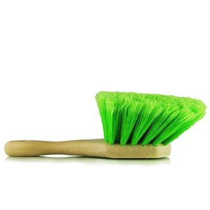 Chemical Guys ACC_G08 - Green Short Handle Body & Wheel Flagged Tip Brush