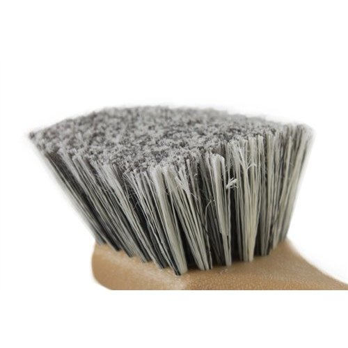 Chemical Guys Canada ACC_G09 - Grey Short Handle Body & Wheel Flagged Tip Brush