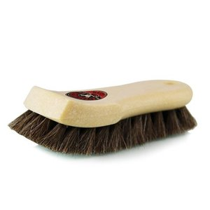 Chemical Guys ACC_S94 - Tan Short Hair Convertible Top Horse Hair Cleaning Brush