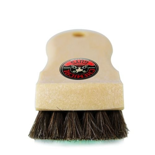 Chemical Guys Canada ACC_S94 - Tan Short Hair Convertible Top Horse Hair Cleaning Brush
