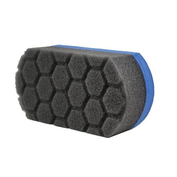 Chemical Guys Canada ACC221 - Easy Grip Ultra Soft Hex-Logic Applicator Pad, Blue