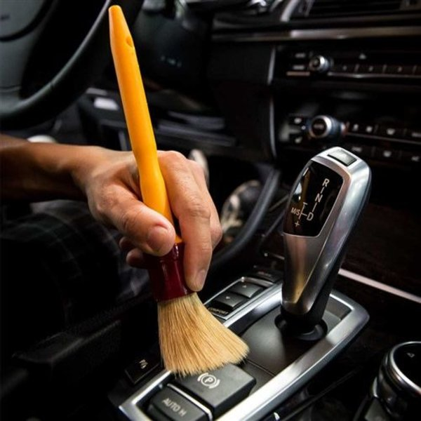 Chemical Guys Canada ACCS91 - The Best Detailing Brush, Boar's Hair Soft Detailing Brush