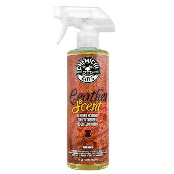 Chemical Guys Canada AIR_102_16 - Leather Scent Premium Air Freshener & Odor Eliminator (16 oz)