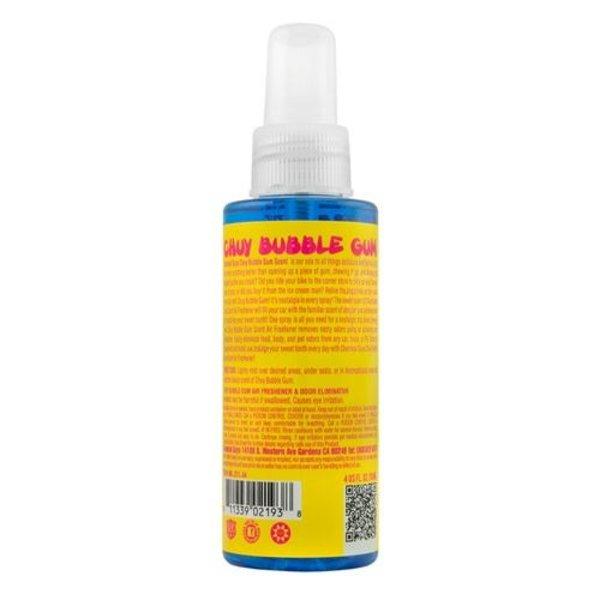 Chemical Guys Canada AIR_221_04 - Chuy Bubble Gum Premium Air Freshener & Odor Eliminator (4 oz)