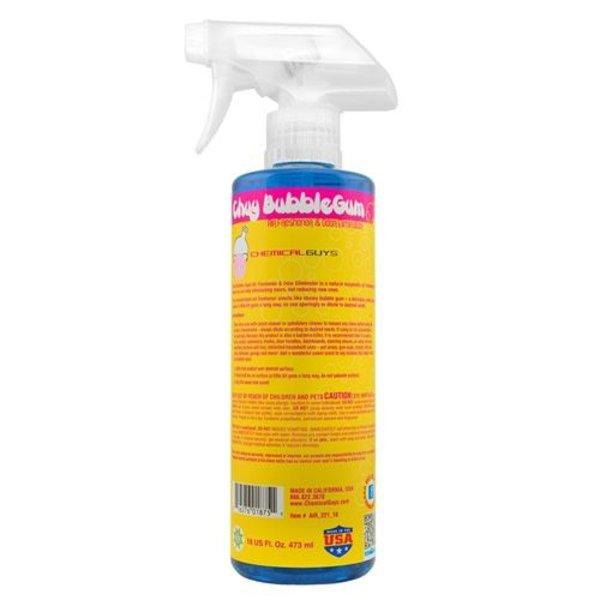 Chemical Guys Canada AIR_221_16 - Chuy Bubble Gum Premium Air Freshener & Odor Eliminator (16 oz)