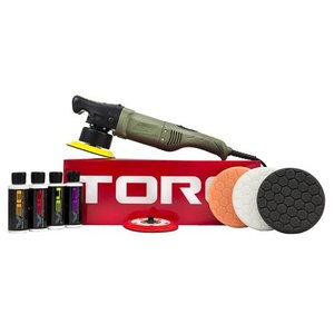 TORQ BUF_501X - TORQ 10FX Random Orbital Polisher Kit (9 items)