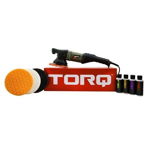 TORQ BUF502X - TORQ22D Random Orbital Polisher Kit (9 Items)