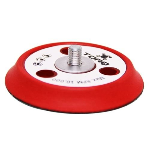 TORQ BUFLC_200 - TORQ R5 Dual-Action Red Backing Plate with Hyper Flex Technology (3 inch)