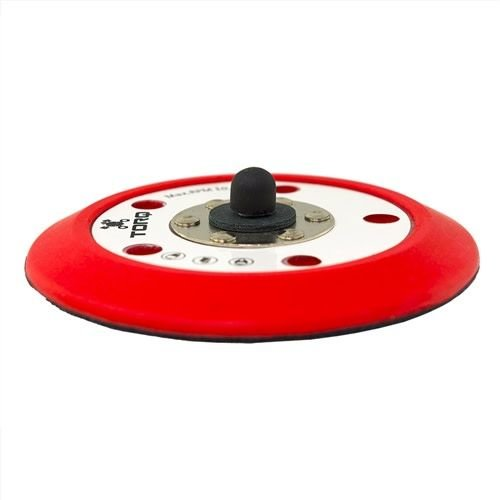 TORQ BUFLC_201 - TORQ R5 Dual-Action Red Backing Plate with Hyper Flex Technology (5 inch)
