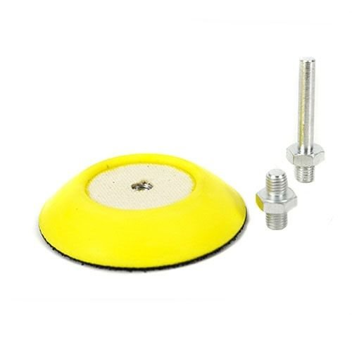 Chemical Guys Canada BUFLC_BP_D2 - Flex Pro Professional Backing Plate with Drill and Dual-Action Adapters (3 Inch)