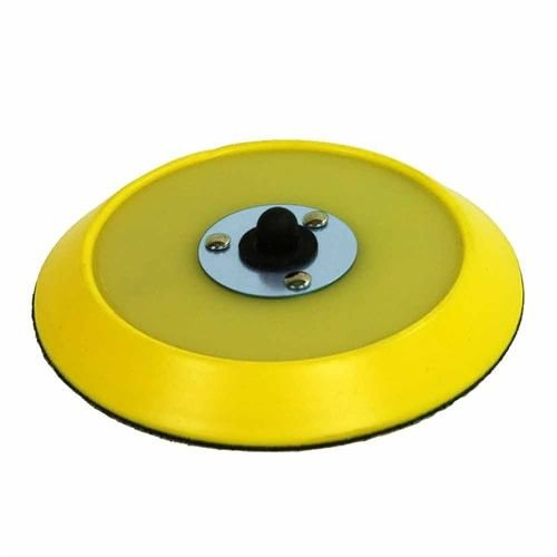 Chemical Guys Canada BUFLC_BP_DA_6 Dual-Action Hook & Loop Flexible Backing Plate MOLDED URETHANE BACKING PLATE (6 inch)
