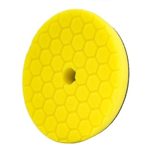 Hex-Logic BUFX111HEX5 - Hex-Logic Quantum Heavy Cutting Pad, Yellow (5.5 Inch)