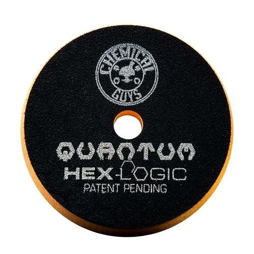 Hex-Logic BUFX112HEX6 - Hex-Logic Quantum Medium-Heavy Cutting Pad, Orange (6.5 Inch)