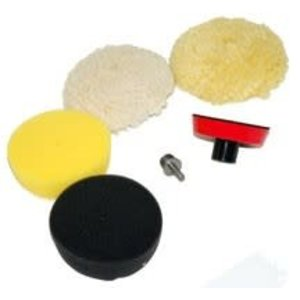 Chemical Guys Canada BUF_800 - Complete Spot Polishing Kit for Rotary and Dual-Action (4 Inch)