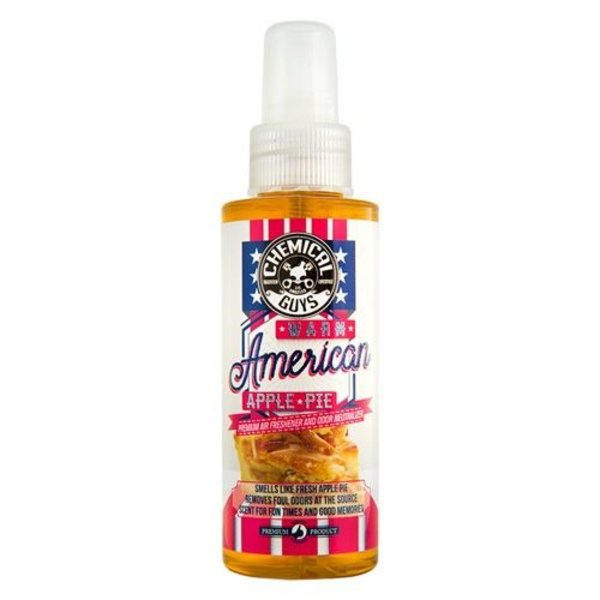 Chemical Guys Canada AIR22704 - Warm American Apple Pie Premium Air Freshener & Odor Eliminator (4 oz)