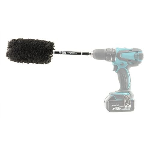 Chemical Guys Canada ACC401 - Power Woolie Microfiber Wheel Brush with Drill Adapter