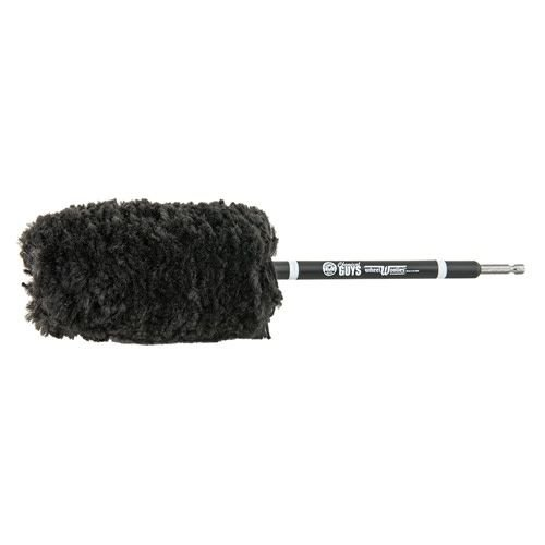 Chemical Guys ACC401 - Power Woolie Microfiber Wheel Brush with Drill Adapter