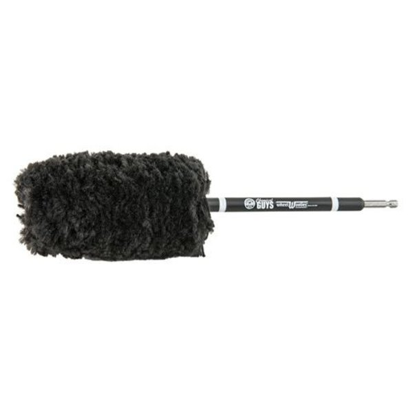 Chemical Guys Canada ACC401 - Power Woolie PW12X Synthetic Microfiber Wheel Brush with Drill Adapter