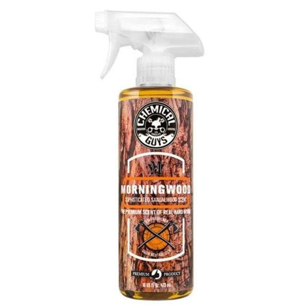 Chemical Guys Canada AIR23016 - Morning Wood Sophisticated Sandalwood Scent Premium Air Freshener & Odor Eliminator (16 oz)