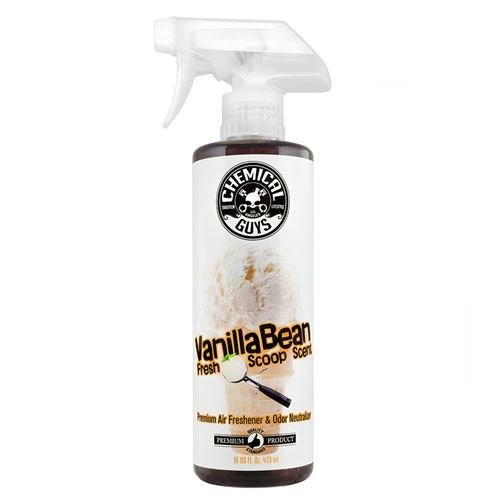 Chemical Guys Canada AIR23116 - Vanilla Bean Fresh Scoop Scent Air Freshener(16 oz)