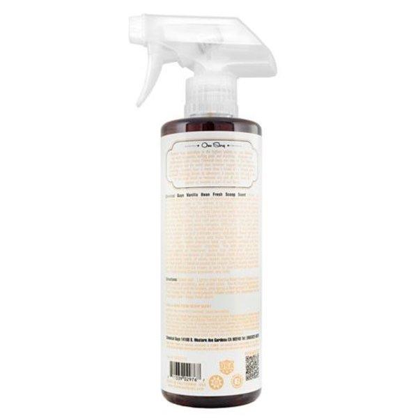 Chemical Guys Canada AIR23116 - Vanilla Bean Fresh Scoop Scent Air Freshener & Odor Eliminator (16 oz)