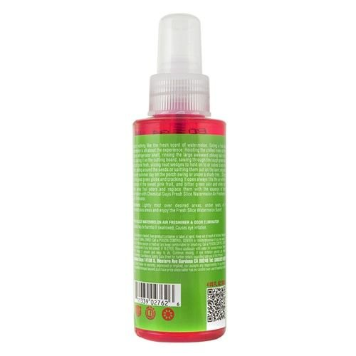 Chemical Guys Canada AIR22504 - Fresh Slice Watermelon Premium Air Freshener (4 oz)