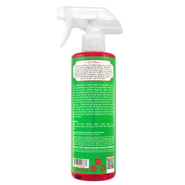 Chemical Guys Canada AIR22516 - Fresh Slice Watermelon Premium Air Freshener & Odor Eliminator (16 oz)