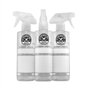 Chemical Guys Canada ACC137 - 16oz Dillution Bottle with Natural Sprayer 3PACK