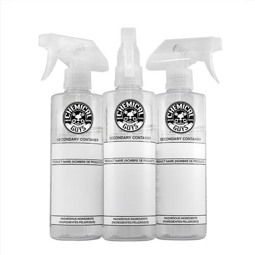 Chemical Guys ACC137 - 16oz Dillution Bottle with Natural Sprayer 3PACK