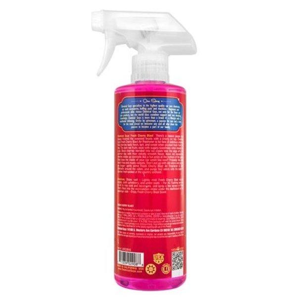 Chemical Guys Canada AIR22816 - Fresh Cherry Blast Scent Premium Air Freshener & Odor Eliminator (16 oz)