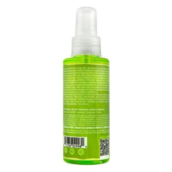Chemical Guys Canada AIR23204 - Zesty Lemon Lime Premium Air Freshener and Odor Eliminator (4 oz)