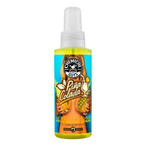 Chemical Guys Canada AIR22904 - Pina Colada Scent Premium Air Freshener & Odor Eliminator (4 oz)
