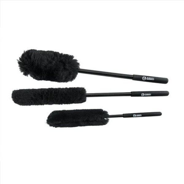Chemical Guys Canada ACC602 - Extended Reach Wheel Gerbils Wheel and Rim Brushes (3 Brushes)