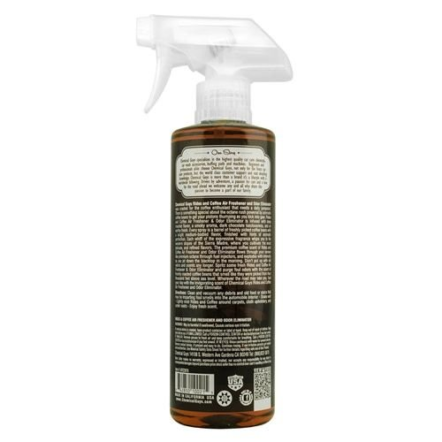 Chemical Guys AIR23616 - Rides and Coffee Scent Premium Air Freshener (16 oz)