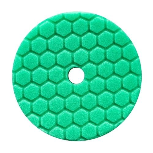 Hex-Logic BUFX113HEX6 - Hex-Logic Quantum Heavy Polishing Pad, Green (6.5 Inch)