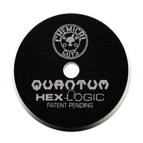 Hex-Logic BUFX114HEX5 - Hex-Logic Quantum Light-Medium Polishing Pad, White (5.5 Inch)