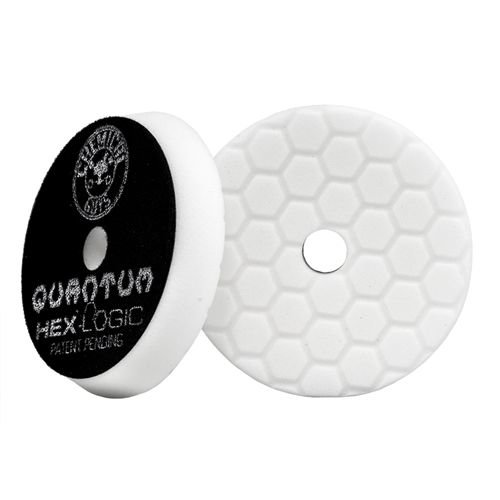 Hex-Logic BUFX114HEX6 - Hex-Logic Quantum Light-Medium Polishing Pad, White (6.5 Inch)