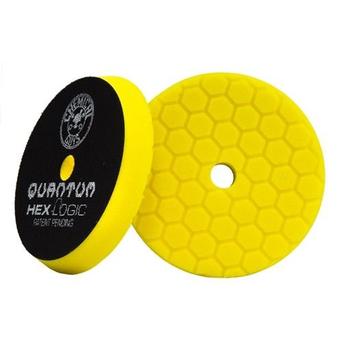Hex-Logic BUFX111HEX6 - Hex-Logic Quantum Heavy Cutting Pad, Yellow (6.5 Inch)