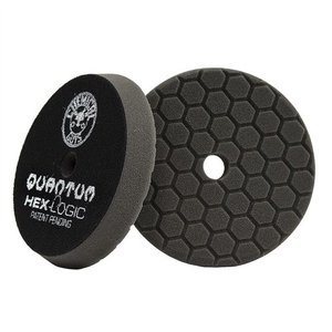 Hex-Logic BUFX116HEX6 - Hex-Logic Quantum Finishing Pad, Black (6.5 Inch)