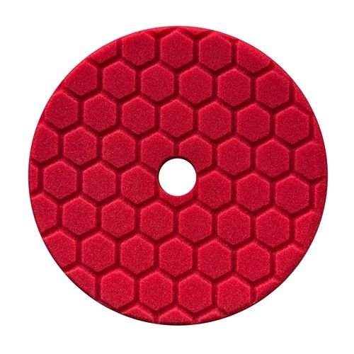Hex-Logic BUFX117HEX5 - Hex-Logic Quantum Ultra Light Finishing Pad, Red (5.5 Inch)