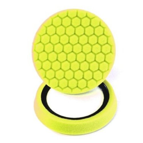 Hex-Logic BUFX_101HEX -Hex-Logic Self-Centered Heavy Cutting Pad, Yellow (7.5 Inch)