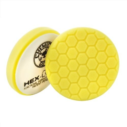 Hex-Logic BUFX_101HEX6 - Hex-Logic Heavy Cutting Pad, Yellow (6.5 Inch)