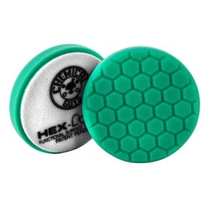 Hex-Logic BUFX_103HEX4 - Hex-Logic Heavy Polishing Pad, Green (4 Inch)
